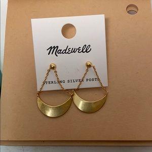 Madewell gold Earrings